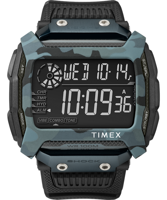 Command Shock 54mm Resin Strap Watch