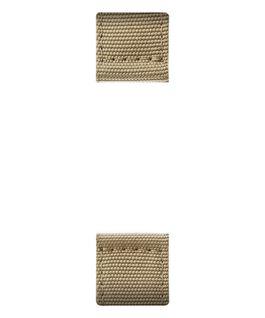 Beiges, zweiteiliges Nylon-Armband  large