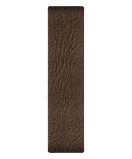 Braunes Lederarmband zum Überziehen  large