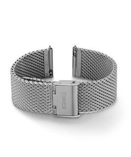 20 mm Mesh-Armband mit Schnellverschluss Silberfarben large