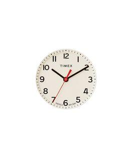Cremefarbenes Ziffernblatt/roter Sekundenzeiger  large