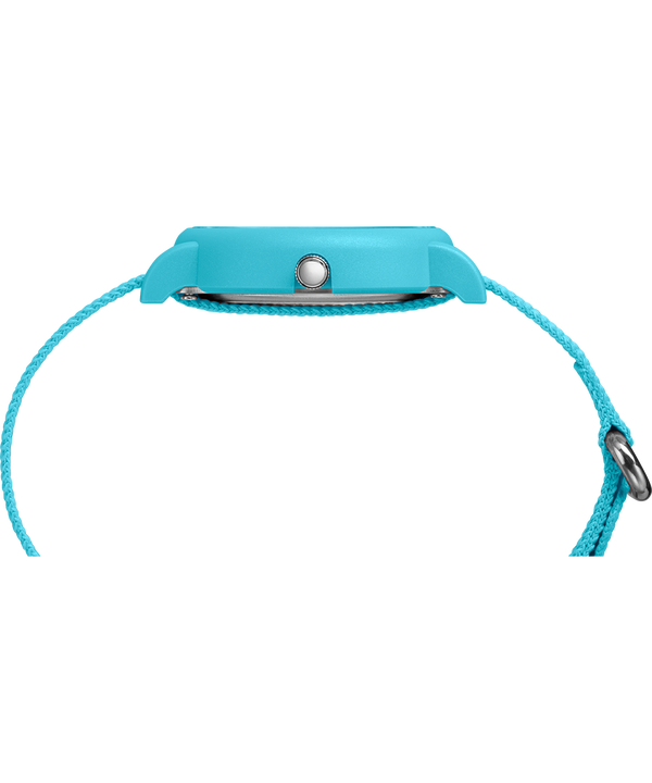Geschenkset Weekender Color Rush mit Nylonarmband, 34mm Blue large
