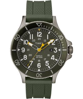 Allied Coastline 43mm mit Silikonarmband Gray/Green large