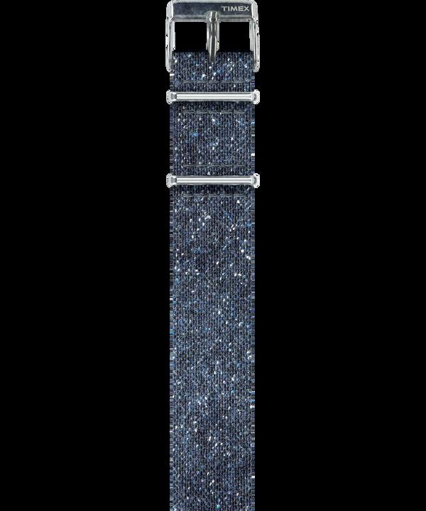 Durchzugarmband aus Noppengarn in Stonewashed -Optik  large