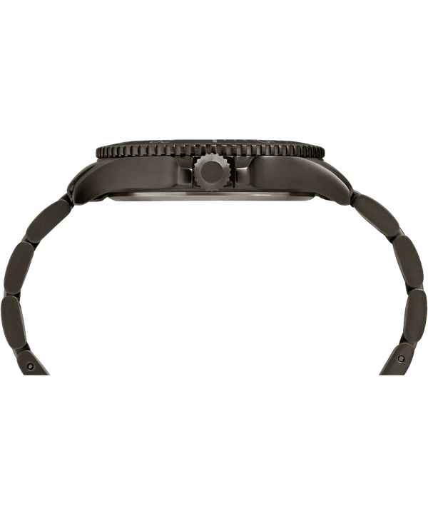 Expedition Ranger mit Metallarmband, 43 mm Gunmetal/Gray/IP-Gun large