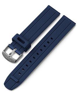 20 mm Silikonarmband mit Schnellverschluss Blau large