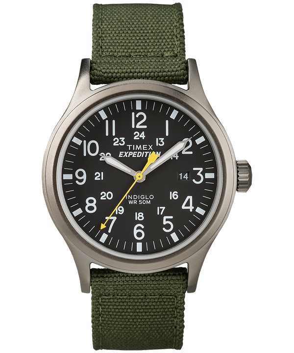 Expedition Scout mit Nylonarmband, 40mm Gray/Green/Black large