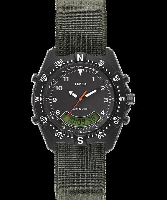 NSN-1K mit Elastikarmband, 39 mm Schwarz/grün large