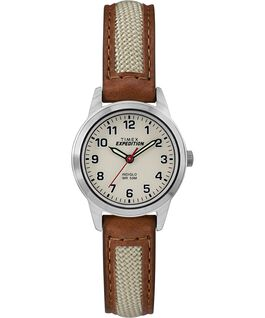 Expedition Field Mini 26 mm Chrom/hellbraun/naturbelassen large