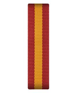 Nylon-Armband zum Überstreifen in Rot/Gelb  large