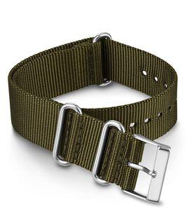 20 mm einfarbiges Zugarmband aus doppellagigem Textil Grün large
