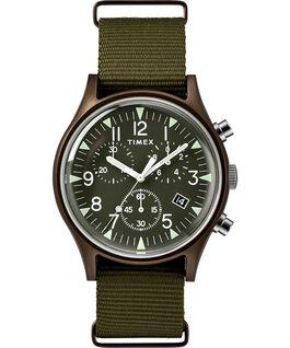 MK1 Aluminum Chronograph 40mm Nylon Strap Watch Green large