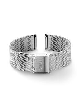16 mm Mesh-Armand für Damen Silberfarben large