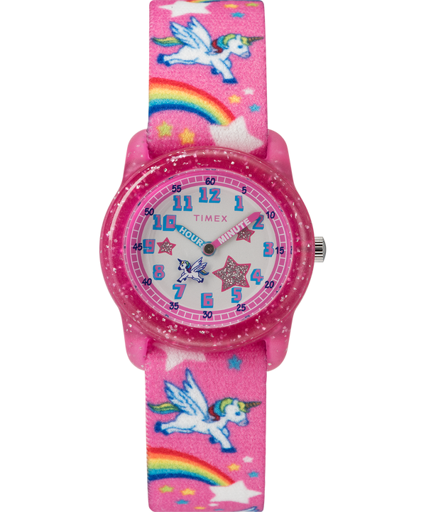 Kids Analog Strap Watch with Pattern  large