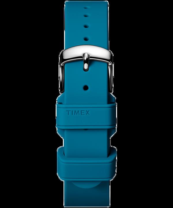 Zweiteiliges Silikonarmband, 18 mm Blue large