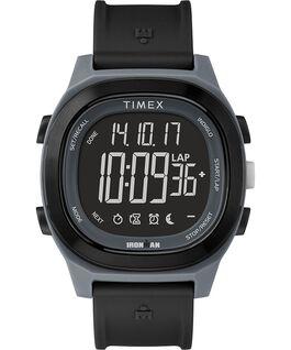 Ironman Transit, 40mm, Volle Größe, Uhr mit Harzarmband und Negativ-Display Schwarz large