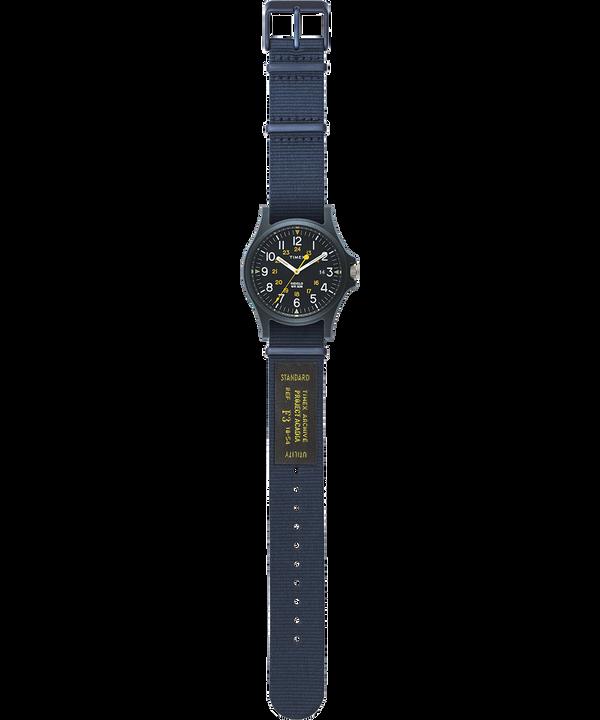 Acadia Military mit Ripsband-Armband, 40 mm Blau large