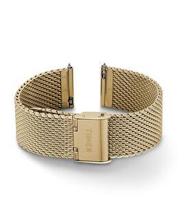 20 mm Mesh-Armband mit Schnellverschluss Goldfarben large