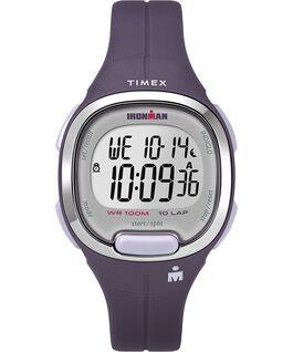 Ironman Transit, 10 33 mm, Mittlere Größe, Uhr mit Harzarmband Lila/silberfarben large
