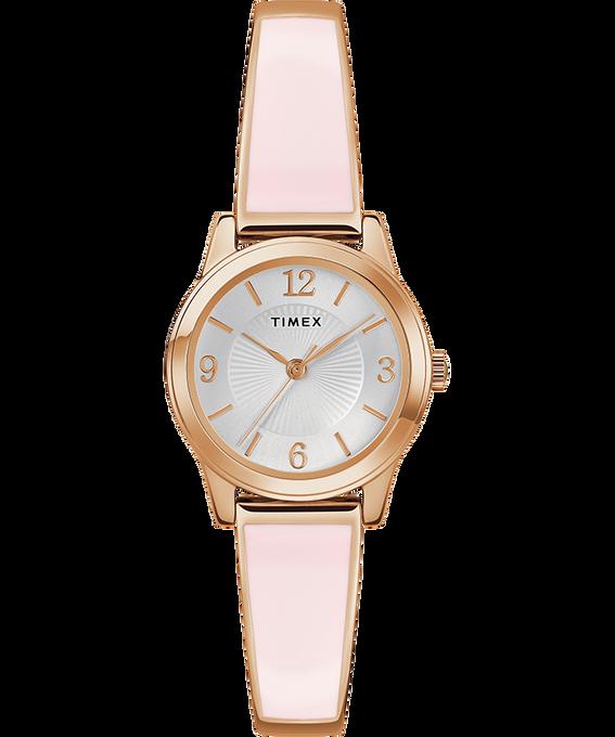 Fashion Stretch Bangle Armband, 25mm Roségoldfarben/goldfarben/silberfarben large