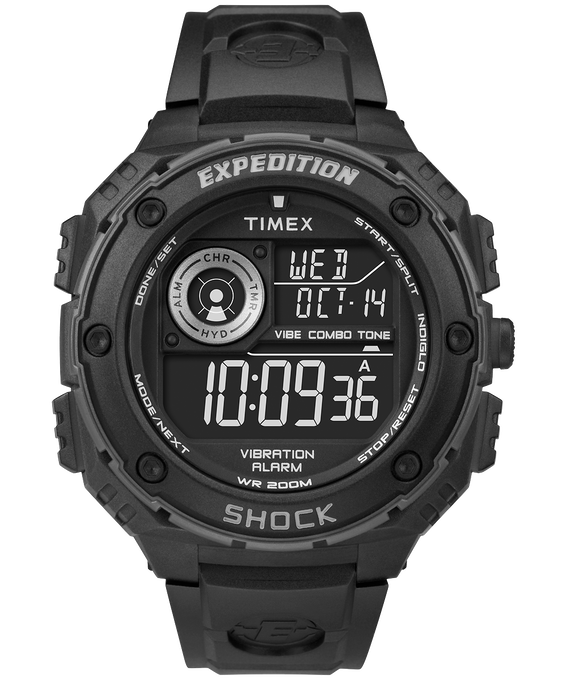 Expedtion Vibe Shock 50mm Resin Strap Watch