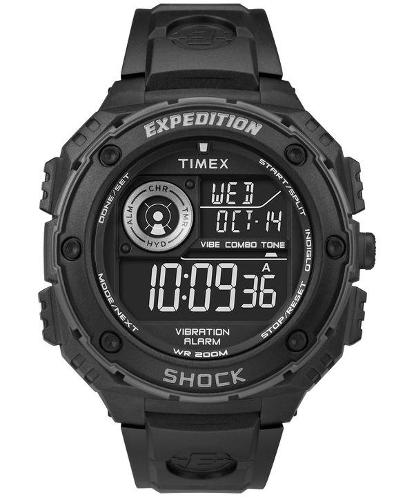 Expedition Vibe Shock mit Harzarmband, 50 mm Black/Gray large