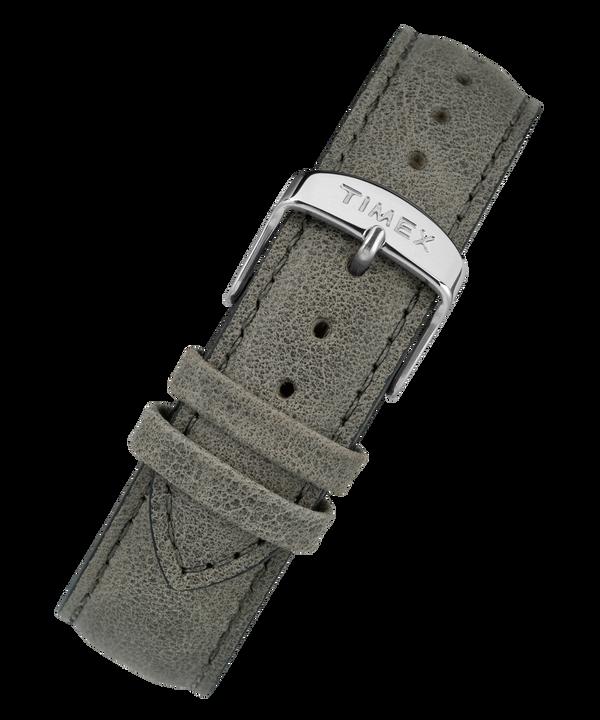 20 mm breites Lederarmband mit Schnellverschluss Gray large