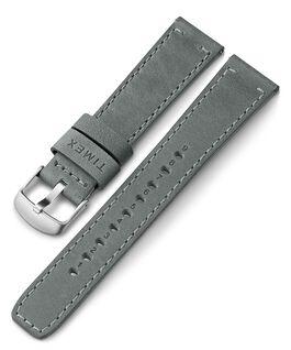 20 mm breites Lederarmband mit Schnellverschluss Grau large