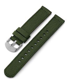 18 mm Textilarmband Grün large