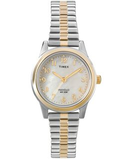 Essex Ave 25mm Stainless Steel Watch Two-Tone/Gold-Tone/Mother-of-Pearl large