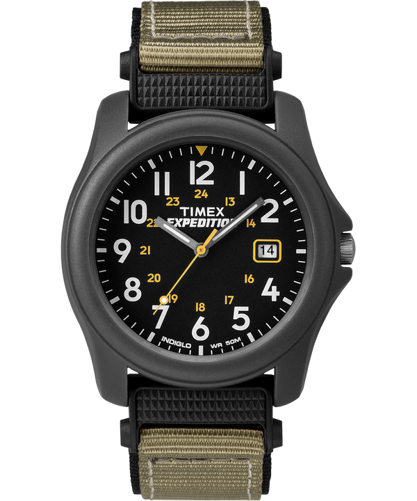 Expedition Camper mit Nylonarmband, 39 mm Gray/Black large