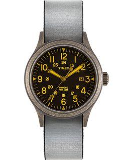 Allied mit vollständig reflektierendem Textilarmband zum Wenden, 40mm Goldfarben/schwarz large