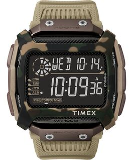 Command Shock 54mm Resin Strap Watch Tan large