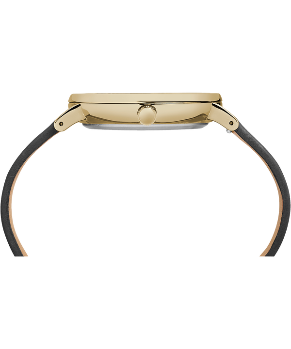 Fairfield mit Lederarmband, 41 mm Gold-Tone/Black large
