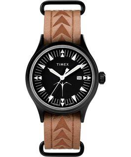 Timex x Keone Nunes mit Lederarmband, 40mm Schwarz/braun large