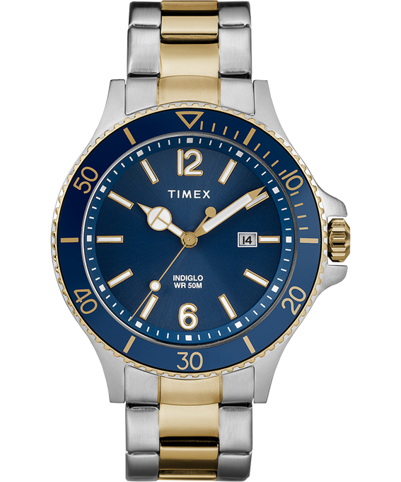Harborside Armbanduhr, 42mm Zweifarbig/blau large