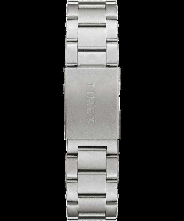 Allied Chronograph mit Armband aus Edelstahl, 42 mm Silberfarben/Edelstahl/schwarz large