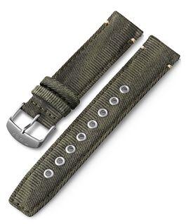 20 mm Textilarmband mit Schnellverschluss Grün large