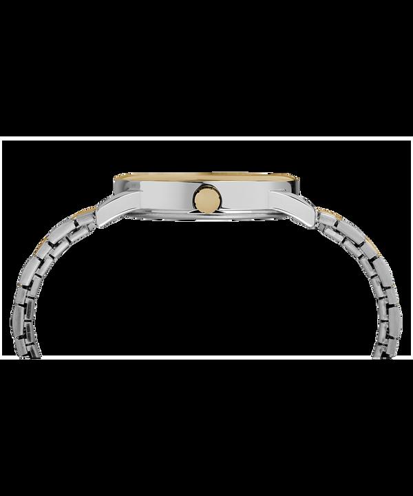 Easy Reader mit Tagesfunktion und Verlängerungsarmband, 38mm Chrome/Two-Tone/Blue large