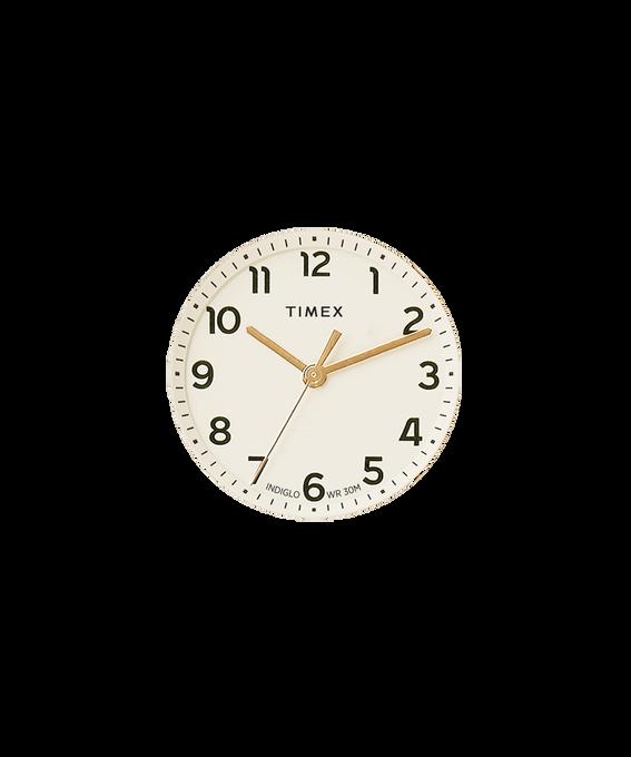 Cremefarbenes Ziffernblatt/goldfarbener Sekundenzeiger  large