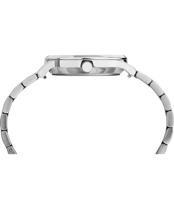 Waterbury Classic aus Edelstahl, 36mm Stainless-Steel/White large