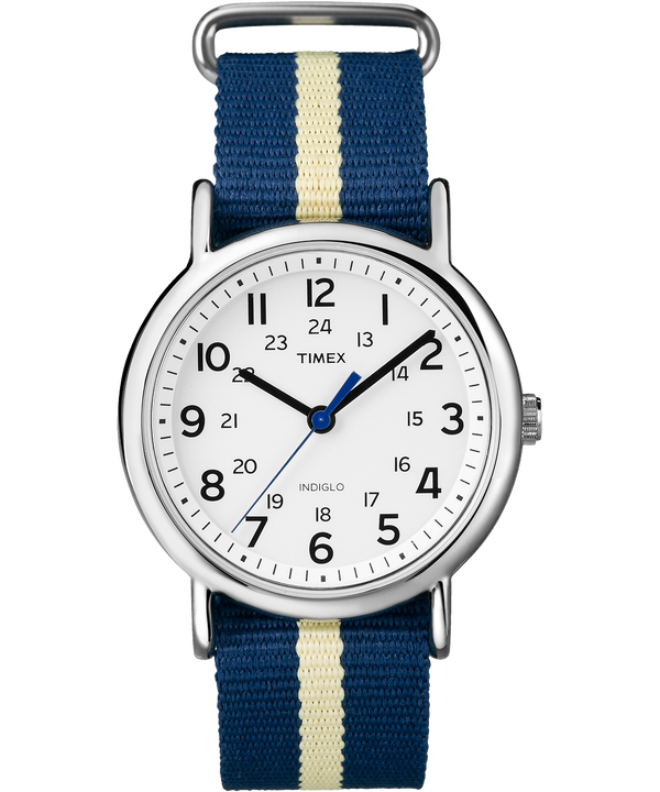 Weekender 38mm Nylon Stripe Strap Watch  large