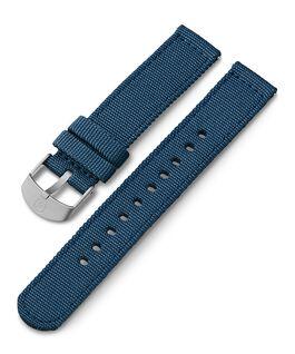 18 mm Textilarmband Blau large