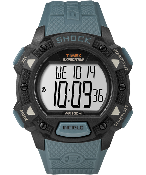 Expedition Base Shock 45mm Resin Strap Watch
