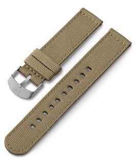 20 mm Textilarmband Beige large