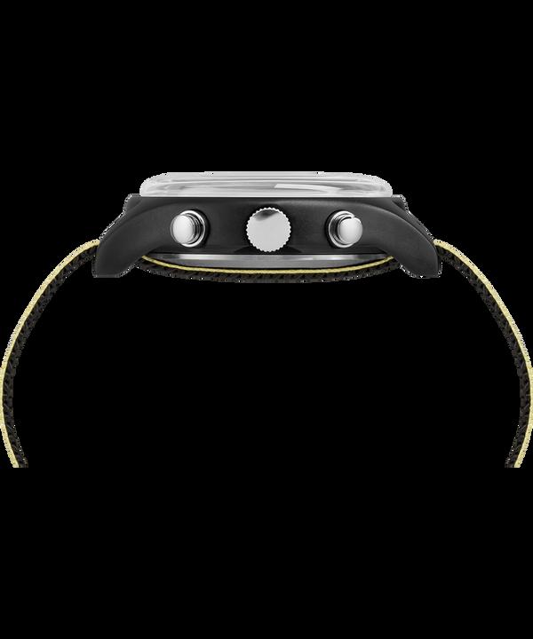 MK1 Aluminium Chronograph mit Reflex-Textilarmband, 40mm Black large