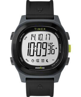 Ironman Transit, 40mm, Volle Größe, Uhr mit Harzarmband Schwarz large