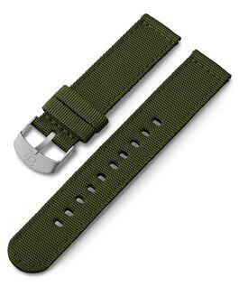20 mm Textilarmband Grün large