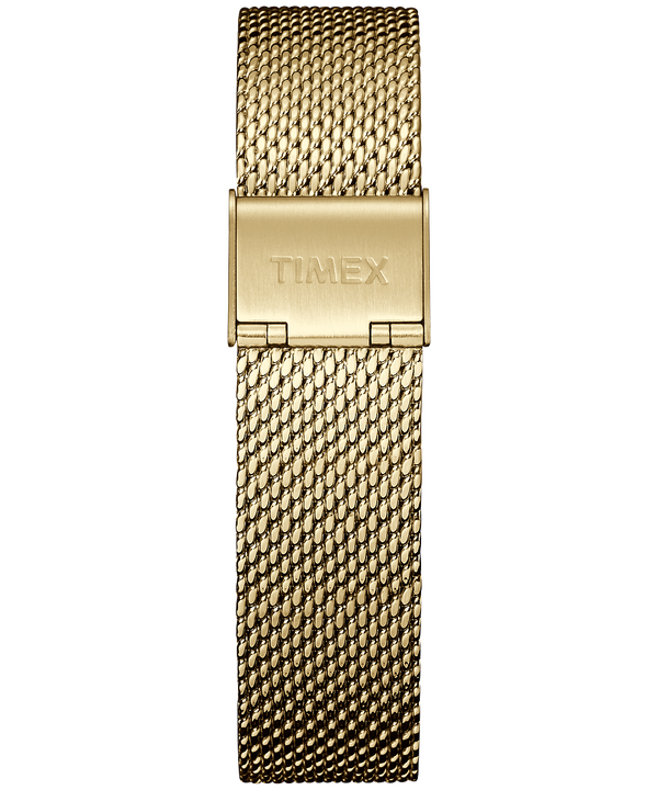 18 mm breites Mesh-Armband Gold-Tone large