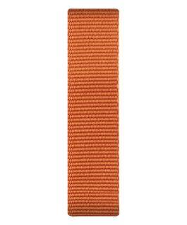 Orangefarbenes Nylon-Armband zum Überstreifen  large